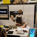 Black Onyx beef prepared by Burnt Ends Chef, Dave Pynt. Food & Hotel Asia 2014, Singapore