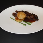 Black Onyx Featured at Blue Grill, Yas Island Rotana. Roasted Black Onyx Beef Striploin, Oxtail Pie